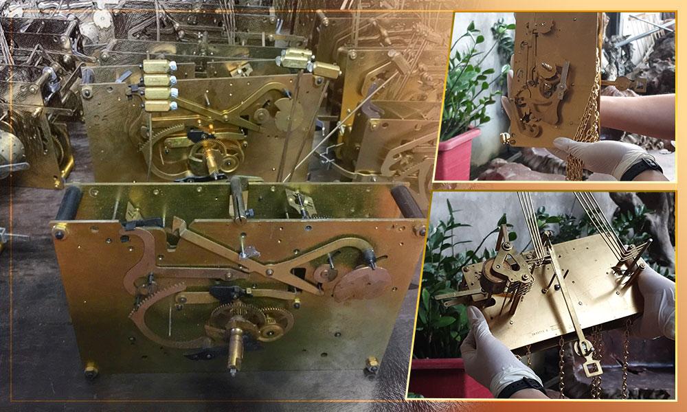 Máy đồng hồ Zin nguyên bản 100% xuất sứ Đức máy mới cứng, các bộ phận còn mới cóng, sáng loáng