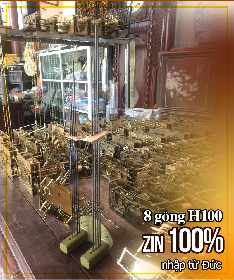 Bộ côn 8 gông H100 nguyên zin của DH64