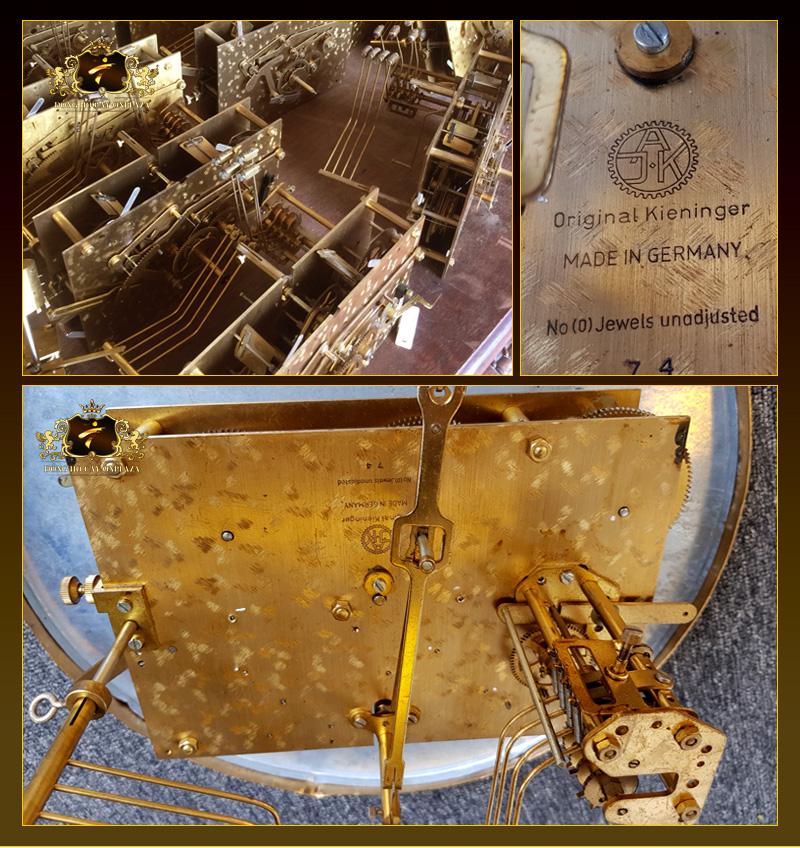 Bộ máy cơ size đại kích thước 16,5 x 23, nguyên size, số sezi, kí hiệu sản xuất được sản xuất từ CHLB Đức (cũ)