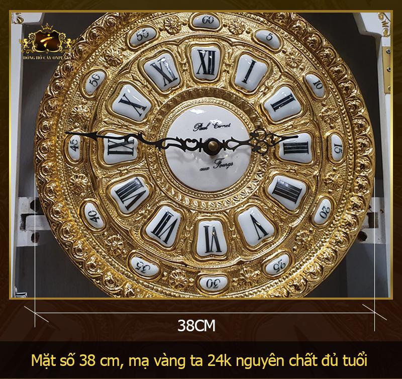 chi tiết mặt đồng hồ DH65